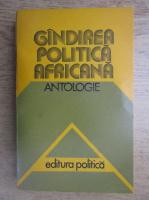 Anticariat: Gandirea politica africana