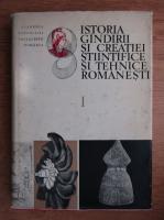 Anticariat: Stefan Pascu - Istoria gandirii si creatiei stiintifice si tehnice romanesti (volumul 1)