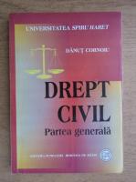 Anticariat: Danut Cornoiu - Drept civil, partea generala