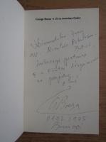 Anticariat: George Bocsa - Zi cu Monsieur Godot (cu autograful autorului)