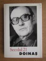 Anticariat: Revista Secolul 21, nr. 1-6, 2003. Doinas