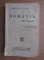 S. Mehedinti - Romania pentru cursul superior (1931)