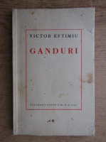 Anticariat: Victor Eftimiu - Ganduri (1940)