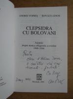 Andrei Voinea - Clepsidra cu bolovani (cu autograful autorului)