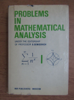 B. Demidovitch - Problems in mathematical analysis