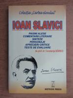Anticariat: Constanta Barboi - Ioan Slavici, pagini alese si comentarii