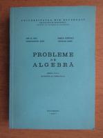 Constantin Nita - Probleme de algebra