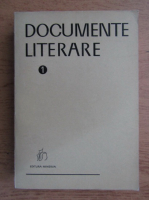 Anticariat: Gh. Cardas - Documente literare (volumul 1)