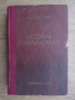 Anticariat: Mihail M. Ionescu - Dictionar roman-italian (1944)