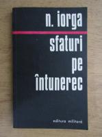 Anticariat: Nicolae Iorga - Sfaturi pe intuneric