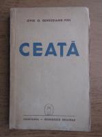 Anticariat: Ovid Densusianu-fiul - Ceata (1943)
