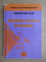 Argentina Filip - Matematici aplicate in economie