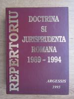 Constantin Crisu - Repertoriu de doctrina si jurisprundenta romana (volumul 1)