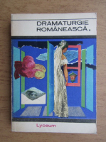 Anticariat: Dramaturgie romaneasca (volumul 1)