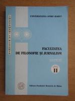 Anticariat: Facultatea de Filosofie si Jurnalism. Sinteze, anul II