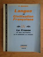 Anticariat: G. Mauger - Langue et civilisation francaises (volumul 4)
