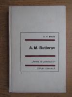 Anticariat: G. V. Bikov - A. M. Butlerov