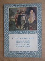Ion Luca Caragiale - Arendasul roman. Premiul intaiu. Doua loturi. In vreme de razboi