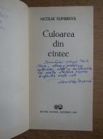 Anticariat: Nicolae Dumbrava - Culoarea din cantec (cu autograful autorului)