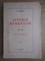 Nicolae Iorga - Istoria romanilor (volumul 3, 1937)
