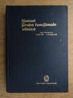 Anticariat: A. Gitter - Manual de probe functionale clinice
