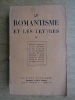 Le romantisme et les lettres (1929)