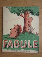 Marcel Breslasu - Fabule