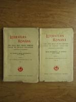 Mihail Dragomirescu - Literatura romana din cele mai vechi timpuri pana in zilele noastre (2 volume, 1929)