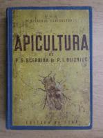 Anticariat: P. S. Scerbina, P. I. Blizniuc - Apicultura (1950)