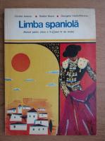 Cristina Ionescu - Limba spaniola, manual pentru clasa a V-a, anul IV de studiu (1974)