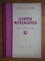 Gazeta Matematica, anul LXXX, nr. 10, 1975