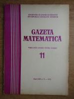 Gazeta Matematica, anul LXXX, nr. 11, 1975