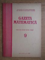 Gazeta Matematica, anul LXXX, nr. 9, 1975