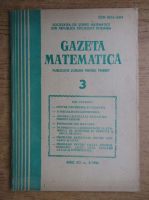 Gazeta Matematica, Seria B, anul XCI, nr. 3, 1986