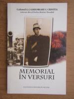 Gheorghe I. Cristea - Memorial in versuri