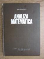Anticariat: Ion Colojoara - Analiza matematica