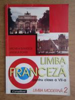 Anticariat: Micaela Slavescu - Limba franceza. Manual pentru clasa VII-a (2003)