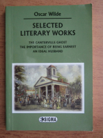 Anticariat: Oscar Wilde - Selected literary works