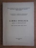 P. Iancovici - Limba engleza, anul II de specialitate