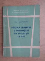 Anticariat: Paul Cernovodeanu - Rascoala seimenilor si dorobantilor din Bucuresti la 1655