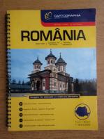Romania, atlas rutier