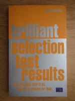 Anticariat: Susan Hodgson - Brilliant selection test results