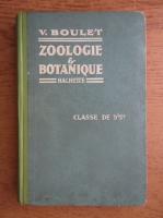 Anticariat: V. Boulet - Zoologie et botanique (1924)