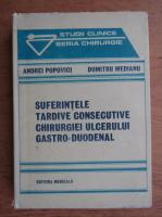 Anticariat: Andrei Popovici - Suferintele tardive consecutive chirurgiei ulcerului gastro-duodenal