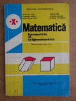 Anticariat: Augustin Cota - Matematica, geometrie si trigonometrie, manual pentru clasa a X-a