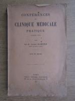 Anticariat: Louis Ramond - Conferences de clinique medicale pratique (volumul 12, 1935)