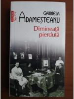 Anticariat: Gabriela Adamesteanu - Dimineata pierduta (Top 10+)