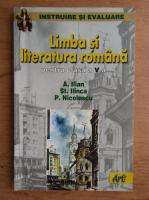 Aurelia Ilian, Stefan M. Ilinca, Petre Nicolescu - Limba si literatura romana pentru clasa a V-a (2002)