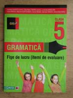 Anticariat: Cornelia Chirita, Eliza Mara Trofin - Gramatica. Fise de lucru, itemi de lucru. Clasa a V-a (2012)
