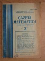 Anticariat: Gazeta matematica, anul XCIII, nr. 3, 1988